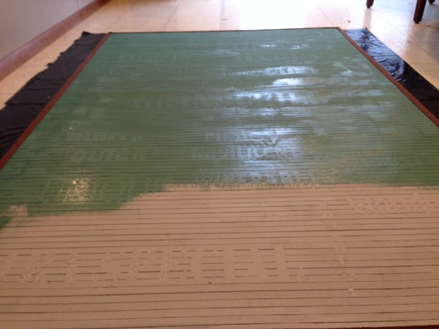 How To Paint A Bamboo Rug With Annie Sloan Chalk Paint
