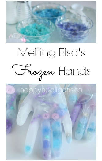 Melting Elsa's Frozen Hands