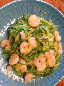 zucchini and shrimp