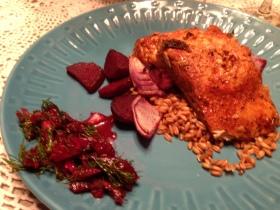 Pan Seared Salmon Meal